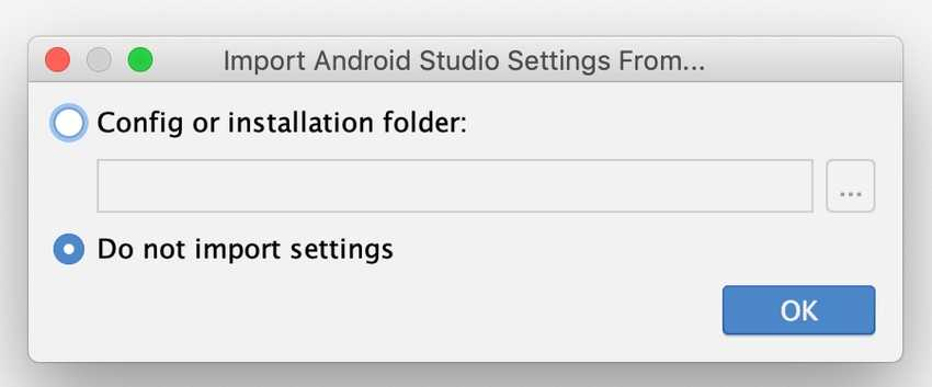 Android Studio Setup part 1